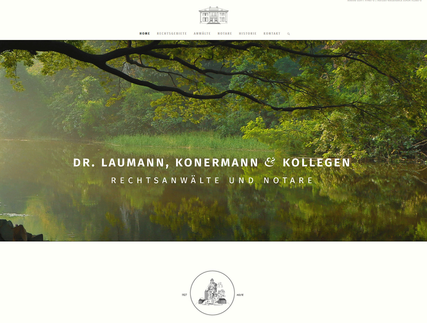 Dr. Laumann, Konermann & Kollegen Website